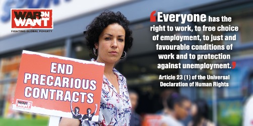 End Precarious Contracts, zero hours, no maternity leave, Frances O'Grady, TUC poll, contact your MP