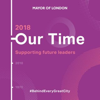 Mayor of London, Our Time, #BehindEveryCity, women leaders
