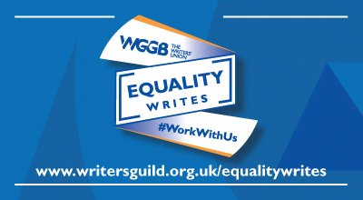 Equality Writes campaign, WGGB, report, Gender Inequality and Screenwriters, women TV writers, women film writers,