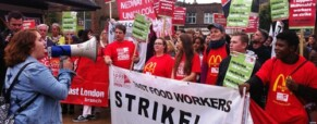 Back campaigning fast food workers