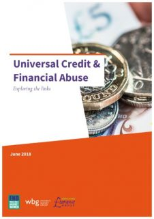 WOmens Budget Group, EVAW Coalition, report, Universal Credit and FInancial Abuse, domestic abuse, coercive control,