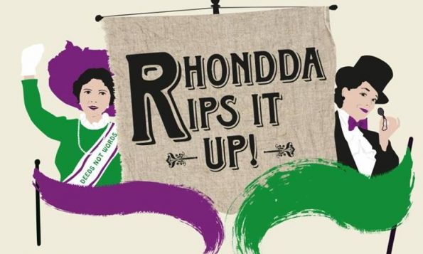 WNO, Lady Rhondda, Musical, Rhondda Rips It Up, suffragette
