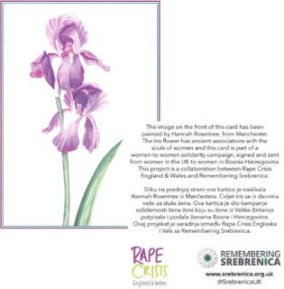 Remembering Srebrenica, genocide, rape, Rape Crisis, Srebrenica Memorial Day, cards