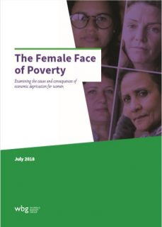 the Women's Budget Group, report, The female face of poverty, women, poverty in the UK, debt, housing, benefits,
