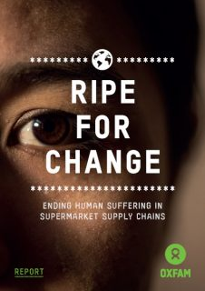 Ripe for Change, Oxfam report, seafood, supermarket supply chains, shareholder profit, worker poverty
