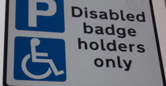 blue badge holders, government, changes, disabled charities, Disability News Service,