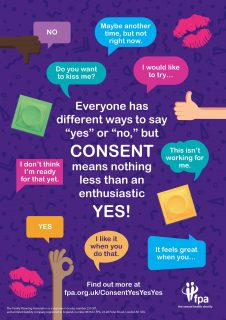 FPA, consent, survey, worrying results, sexual health week,