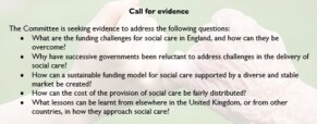 Social care in England inquiry launched