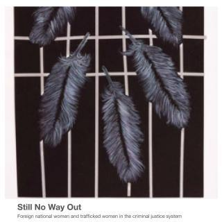 foreign national women, UK prison, anti-slavery laws, hostile environment, Prison Reform Trust, Hibiscus Initiative, new report