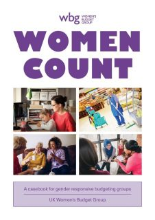 Women's Budget Group, WBG, Women Count,