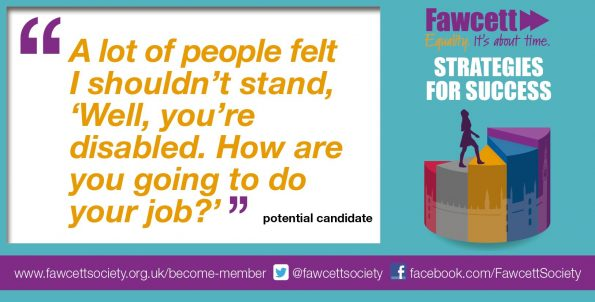 Fawcett Society, report, women candidates, women MPs, selection committees, ambition, money, Westminster culture, sexism