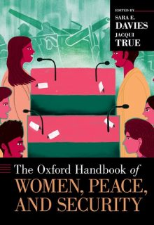 Oxford Handbook, women peace and security, discount offer,