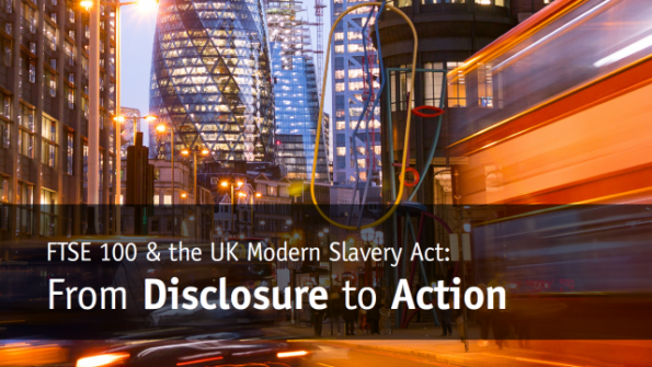 FTSE 100, UK's Modern Slavery Act, The Business and Human Rights Resource Centrereport,