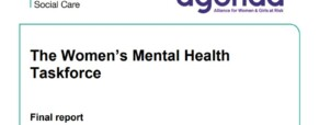 Taskforce reports on women and mental health
