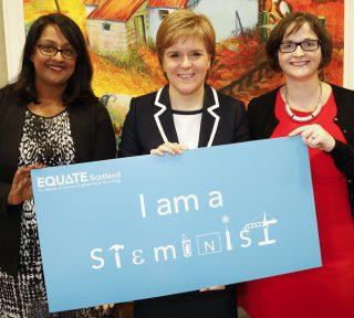 #ThisIsWhatASteministLooksLike, Equate Scotland, women in STEM subjects, photo, campign, diversity,
