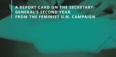 Feminists rate progress of UN boss