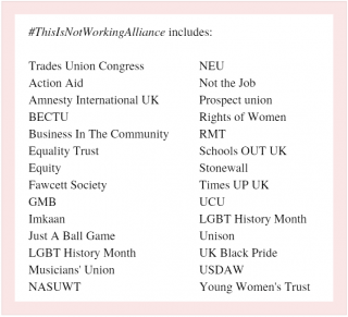 TUC alliance, campaign, petition, government, make employers responsible, sexual harassment at work, #ThisIsNotWorking