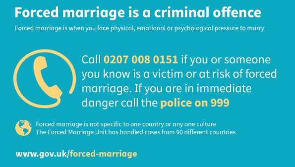 Forced Marriage Unit, FMU, annual report, forced marriage, criminal offence