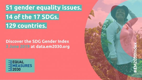 the SDG Gender Index, Women Deliver Conference 2019, Equal Measures 2030, Sustainable Development Goals, SDGs, 14 SDGs, 51 gender equality issues, report