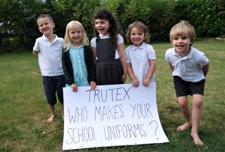 school uniform, monopoly, pricing, transparency, Labour behind the Label, Trutex, petition, letter, Competition and Markets Authority, CMA, Gavin WIlliamson,