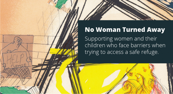 Women's Aid, 2019 report, No Woman Turned Away, project, accessing a safe refuge,