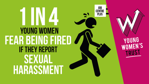 Young women's Trust, survey, sexual harassment at work, #MeToo, fired for reporting, reinstate Section 40, Equality Act 2010, employers' duties