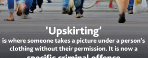 Upskirting legislation in practise