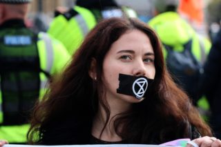 Extinction Rebellion, hunger strike, three demands, GE19, 12 December