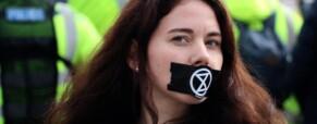 Global climate hunger strike started