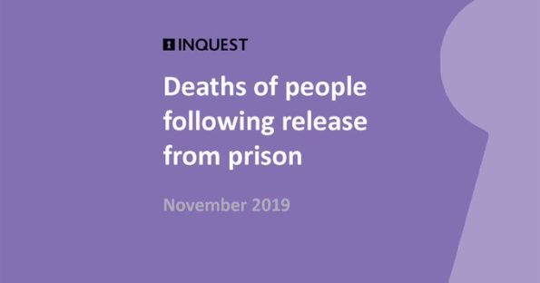 INQUEST, report, 10 deaths, each week, release from prison, women, suicide, General Election 2019, political parties, commitment, action