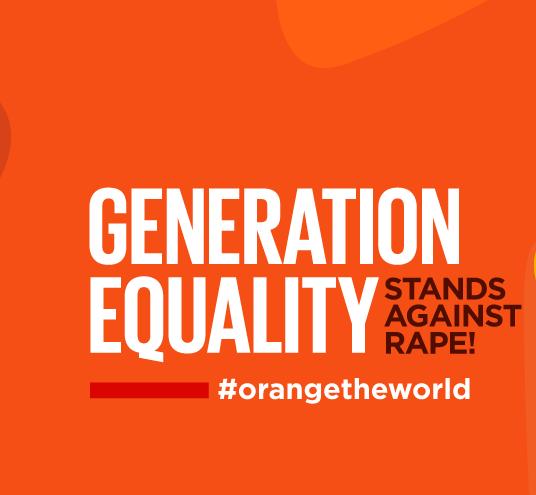 #orange the world, stand against rape, rape culture, consent issues, violence against women, 16 Days, UNiTE campaign, UN