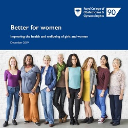 Better for Women, report, one-stop women's health clinics, contraception, Professor Lesley Regan, President, the Royal College of Obstetricians and Gynaecologists,
