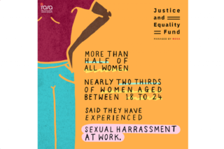 sexual harassment, workplace, project, Rosa, #MeToo Time's Up, project, Fawcett Society, WRDA, Close the Gap, Chwarae Teg,