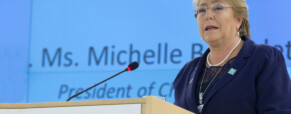 Michelle Bachelet on Beijing and women's rights