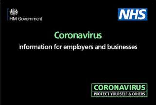 Coronavirus, joint call, HSE, CBI, TUC, workers safety, Public Health England guidance