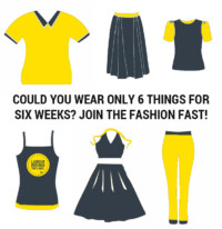 Join a fashion fast to oppose fast fashion