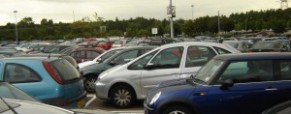 Women drivers stress over parking