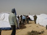 African women in Libyan camp say rebels rape them